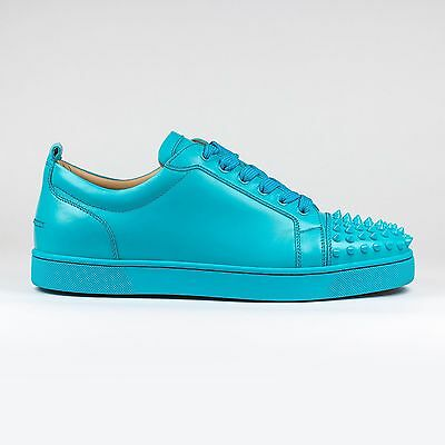100% Auth Christian Louboutin Pacific Louis Junior Calf Leather Sneakers Bnib
