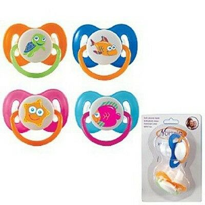 Соски NURTRIA SILICONE PACIFIERS - 2-PACK