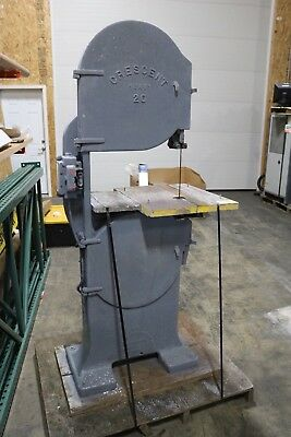"""delta rockwell /crescent 20"""" band saw"""