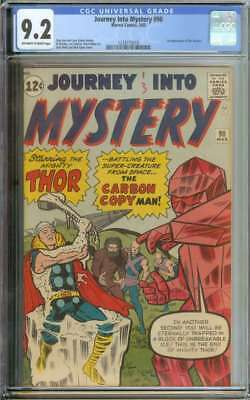 journey into mystery #90 cgc 9.2 ow/wh pages