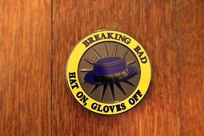 Breaking Bad 2011 Challenge Coin Season 4 Extremely Rare Better Ca