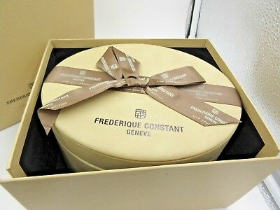 Frederique Constant Watch Box For Shu Qi Gift Box Warrant Card & Booklet New