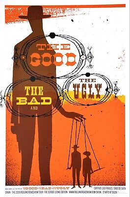 the good, the bad, the ugly by jeff kleinsmith  rare sold out mondo