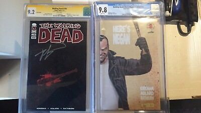 The Walking Dead #100 Rare Lucille Variant And Here's Negan 1 Cgc 9.8