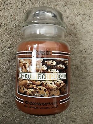 Yankee Candle 22 Oz  Chocolate Chip Cookie  Bb Black Band