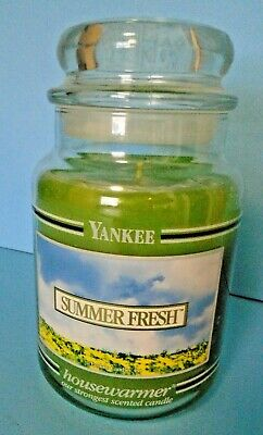 Yankee Candle 22 Oz Black Label: Summer Fresh