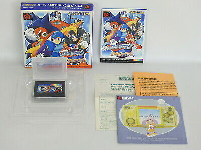 Rockman Battle And Fighters Ref/032 Free Shippng Pocket Neo Geo Snk Np