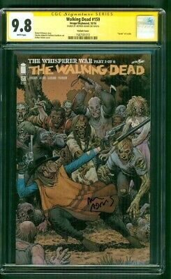 Walking Dead 159 Cgc Ss 9.8 Art Adams Exclusive Variant Cover Tv Show New Season