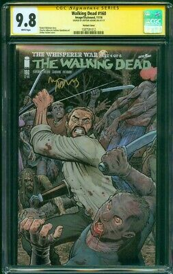 Walking Dead 160 Cgc Ss 9.8 Art Adams Exclusive Variant Cover Tv Show New Season
