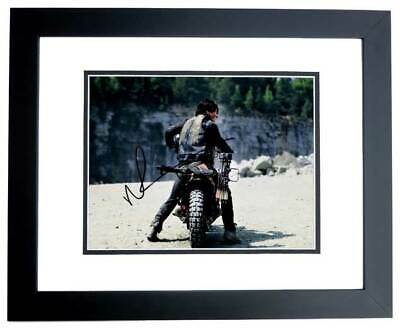 Norman Reedus Signed The Walking Dead - Daryl Dixon Photo - Black Frame