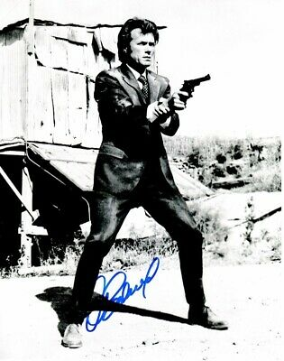 clint eastwood signed the good, the bad and the ugly 11x14 inch photo rdm coa