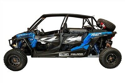 Cagewrx Rzr Xp4 1000 2014-2018 Super Shorty Roll Cage Assembled Raw W/ Roof