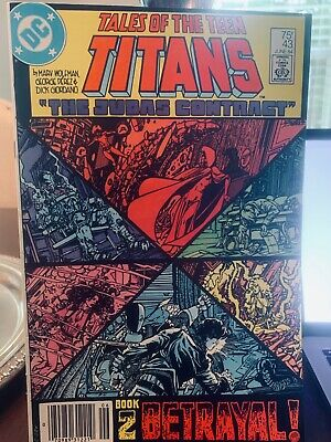 "Tales Of The Teen Titans ""the Judas Contract"" Series No. 42, 43, 44"