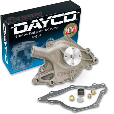 Dayco Water Pump For Dodge Wm300 Power Wagon 1960-1962 5.2l V8 - Engine Tune Xu