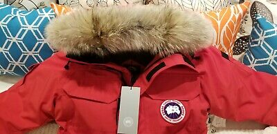 """New 2019/2020 """"grey Label"""" Edition Red Canada Goose Expedition Lg Parka Jacket"""