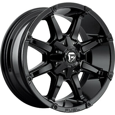 4- 20x9 Gloss Black Coupler 8x6.5 +1 Wheels Open Country A/t Ii  Tires