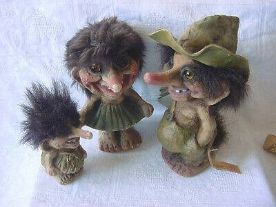 Nyform Troll S Norway Lillehammer 94 Tags + 2 Ladies Vintage 1990s Dolls Olympic