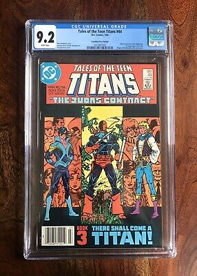Tales Of The Teen Titans #44 Cgc 9.2 (7/84) 1st Nightwing Canadian Variant Cpv