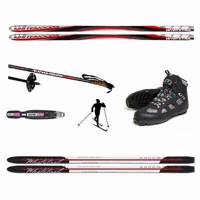 180cm Metal Edge - Back Country Cross Country Skis Package - Unbox