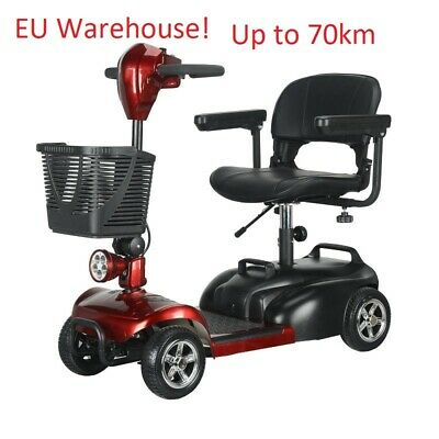 electric mobility scooter old people. eu warehouse. big battery up 70km