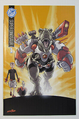 Super Dinosaur #1 Nm+/mt 9.6/9.8 Sdcc Skybound 5th Anniversary Color