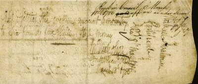 John Nicholson - Promissory Note Signed 03/18/1786 Co-signed By: Andrew Doz