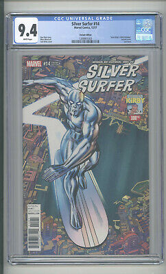 """Silver Surfer    #14   Cgc 9.4  """"kirby Variant"""""""