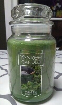 Yankee Candle ~ Meadow Showers ~ 22oz Large Jar *free Expedited Shipping*