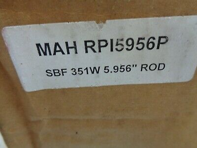 Propower  Mah Rp15956p 4140 Forged Rods For Ford 351w....5.956 Stock Lg.