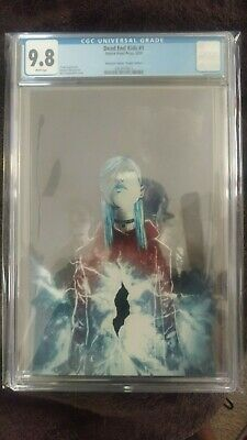 Dead End Kids 1 Cgc 9.8 Anomaly Comics Virgin Variant Source Point Graded Comic.