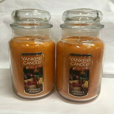 Yankee Candle Lot Of (2) Farmer