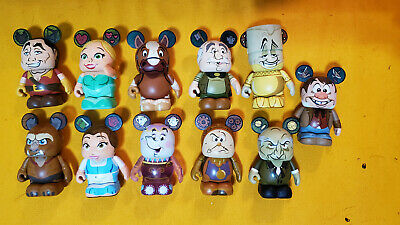 "Disney 3"" Vinylmation Beauty And The Beast 1 - 11 Of 12  Only Missing Chaser"