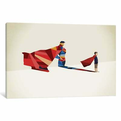 Icanvas Walking Shadow Hero I By Jason Ratliff Canvas Print