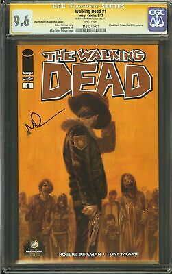 Walking Dead #1 Cgc 9.6 Signed Norman Reedus Wizard World Philly Variant Reprint