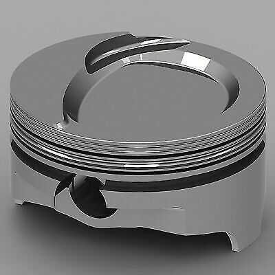 Chevrolet Fits 409-v8 Icon Forged Piston Set Dome V2