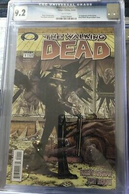 Walking Dead Issue 1 Cgc Lot