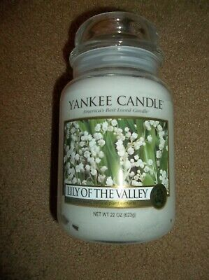 """Yankee Candle Lily Of The Valley 22 Oz """"brand New & Vhtf"""""""