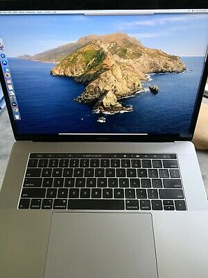"""2018 Apple 15"""" Macbook Pro 2.9ghz I9/32gb/1tb Flash/touch Bar/space Gray"""