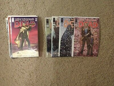 The Walking Dead Image Comic Book Lot 105 Issues 10,17,29,30,31,37,41,50,51 Etc.