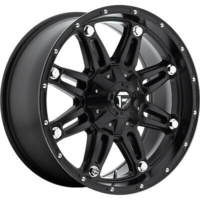 4- 20x9 Black Fuel Hostage 6x135 & 6x5.5 -12 Wheels Open Country A/t Ii  Tires