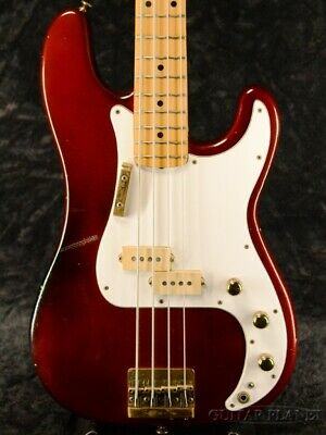 Fender End Of The Month Gitaba 1980 Precision Bass Special Candy Apple Red