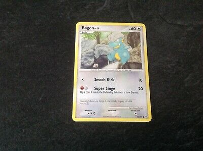 Pokemon Arceus Platinum 2009 Bagon Common