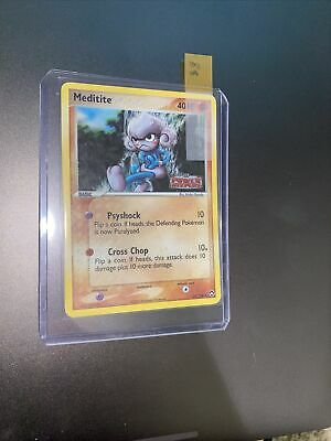 2007 POKEMON: Meditite - 55/108 40 HP - REVERSE HOLO EX POWER KEEPERS NM