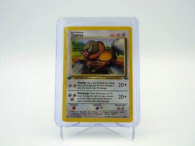Tauros 47/64 1999 Pokemon Jungle Set 1st Edition Game Trading Card
