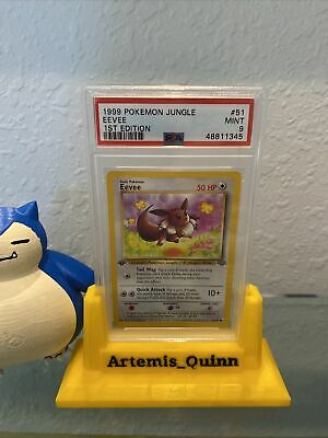 1999 Pokemon Jungle 1st Edition Eevee #51 PSA 9 MINT