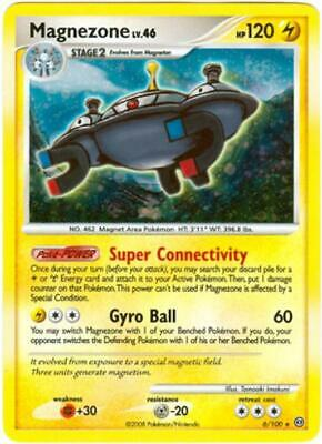 Magnezone 006 NM Diamond and Pearl Stormfront Pokemon Card Tracked Shipping