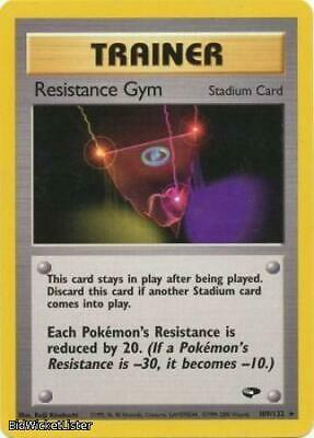 Resistance Gym 109 NM Gym Challenge WOTC Pokemon Card Tracked Shipping