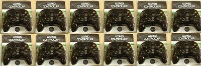 12 Lot Black Controllers For The Original Xbox ( New )