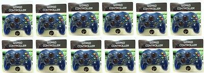 12 Lot Blue Controllers For The Original Xbox ( New )