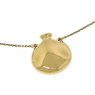 Tiffany&co Jewelry Peretti 18kyellow Gold Small Open Bottle Pendant Necklace